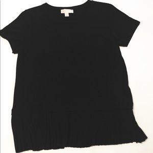 Micheal Kors Professional T shirt with chiffon hem